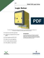 Deltav Sis Logic Solver en 57890