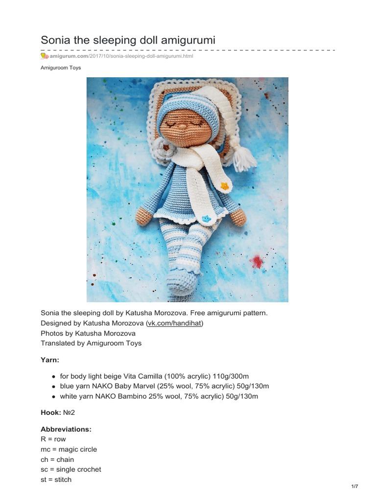 Amigurumi Cracker Girl Bunny Free Pattern- Part-1 - Tiny Mini ... | 1024x768