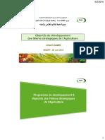 Algérie.  Ministère.Objectifs_de_developpement_des_filieres_strategiques_de_l_Agriculture