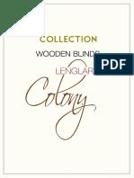 Catalogue Lenglart Colony EN
