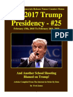 Trump Presidency 25 - February 15th, 2018 to February 26th, 2018