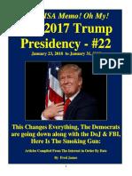Trump Presidency 22 - January 23, 2018 to January 31, 2018