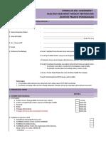 Format Self Assessment FKTP Perpanjangan New 2018