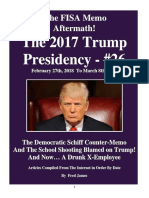 Trump Presidency 26 - February 27th, 2018 to March 8th, 2018