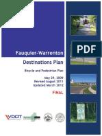 Fauquier Destinations (Trails) Plan