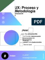 ux proceso y metodologia