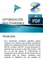 OPTIMIZACIÓN MULTIVARIABLE IRRESTRICTAv1.pptx