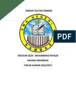 BIOGRAFI SULTAN SAMBAS.docx