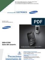 Manual Del Samsung Sgh e256