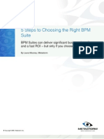 5 Steps to Choosing the Right BPM Suite
