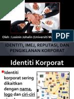 Identiti, Imej, Reputasi Dan Pengiklanan Korporat