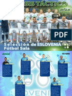 Analisis Tactico Seleccion de Eslovenia