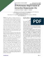 Evaluation and Performance Improvement of Antasari Intersection Banjarmasin City