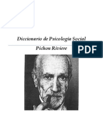 Diccionario en Psicologia Social