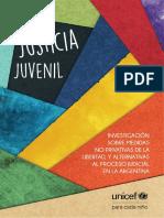Medidas Alternativas en Justicia Penal Juvenil