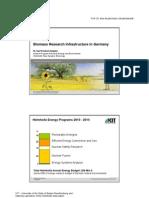 09 Biomass Research Infrastructure 2010 Ziegahn VF