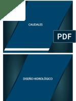 4 7 Caudales Hidro Diseño Hidrologico