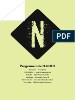 Programa N Nulo