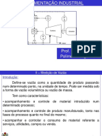 Processos Industriais- Pressão e Vazão