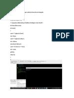 Programa 3 en lenguaje c++