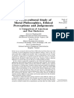 VITELL Moral Judgmentes - Cross Cultural Study