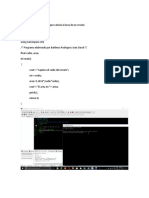 Programa 5 en lenguaje c++