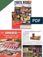 "Kuta Weekly - Edition 608 ""Bali's Premier Weekly Newspaper"""