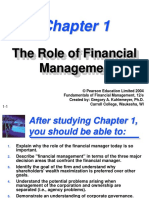Ch01 the Role of Financial Management