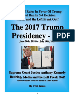 Trump Presidency 38 - June 20th, 2018 to July 14th, 2018