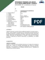 Formato 2.1 Libro de Ingresos y Gastos Rentas de Segunda Categoria