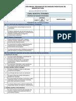Lista de Verificación Inicial Requisitos de Buenas Prácticas de Manufactura