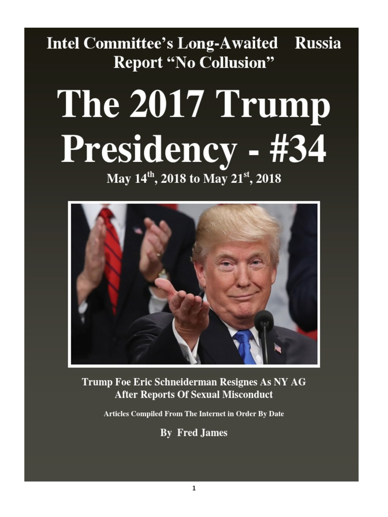 061f210d5f3 Trump Presidency 34 - May 14th, 2018 to May 21st, 2018   Donald ...