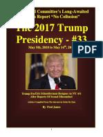 Trump Presidency 33 - May 5th, 2018 to May 14th, 2018