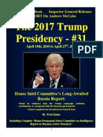 Trump Presidency 31 - April 19th, 2018 to April 27th, 2018