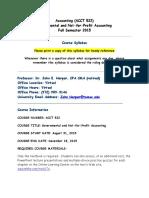 ACCT 522 govt+nfp syllabus 80958