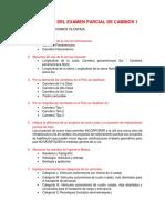Resolucion Del Examen Parcial de Caminos 1