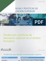 Tendencias y Politicas en Educacion Superior Maria Jose Lemaitre Del Campo