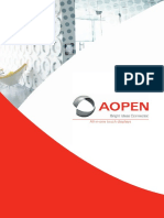 AOPEN All-In-One Touchdisplays Brochure