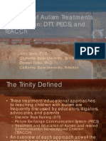 The Trinity of Autism Treatments in Education