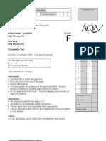 AQA-PHY2F-W-QP-JAN09