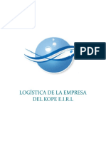 Kope Trabajo Final de Logistica