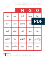 Dolch Sight Words Flashcards 304