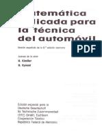 MATEMATICA AUTOMOVIL