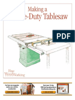 Tablesaw Router Table Combo