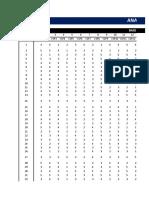 tabulacion de encuestas de facultad de fiscalizacion