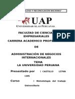 La Universidad Peruana