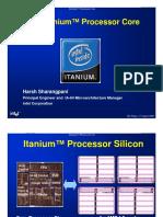 Itanium Core