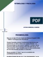 Fenomenologia y Hermeneutica