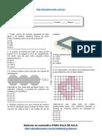 Simulado_atividade 42 de Matemática Para 6º Ano