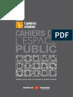 cahier d l 'espace public